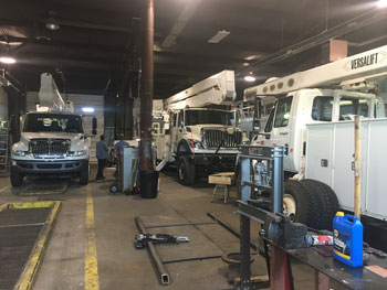 Versalift Ohio Service Shop